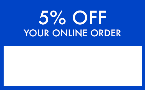 5% Off Coupon